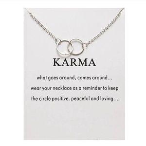NEW!! ✨ Karma Pendant Necklace